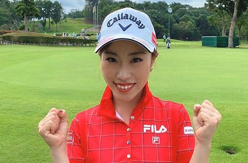 女子プロゴルファー 木村彩子選手